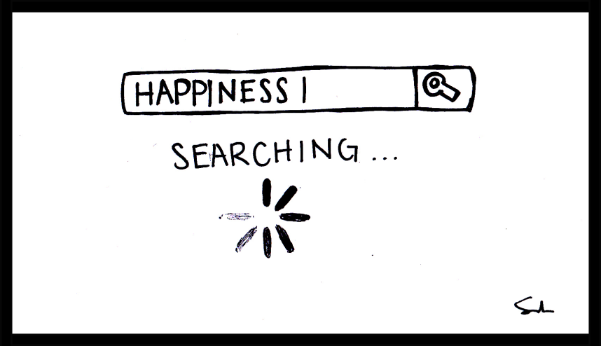 finding happiness (Perspectives) Samantha Parra