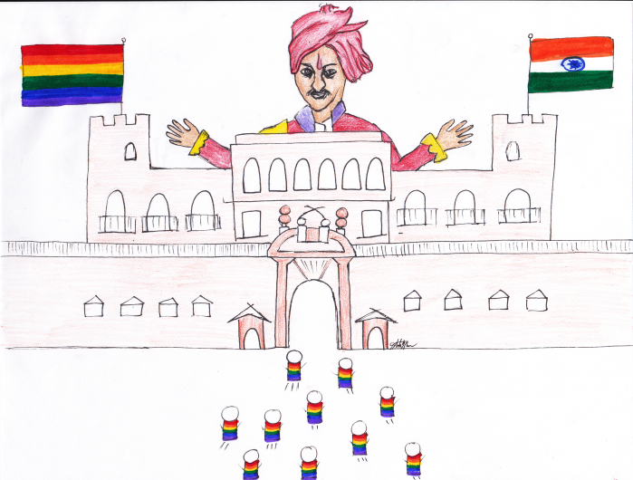 Prince of India is GAY
