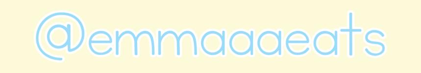 Emma Eats banner